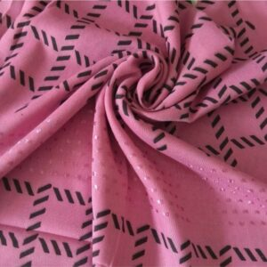 Fancy Turkish Cotton Stole Party Pink