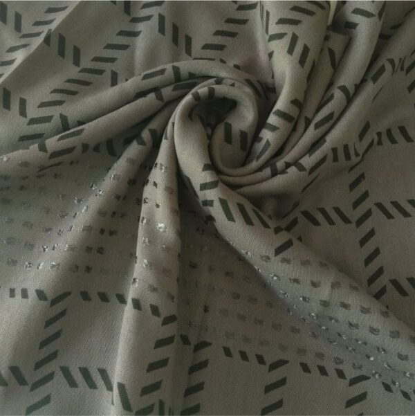 Fancy Turkish Cotton Stole Slate Grey