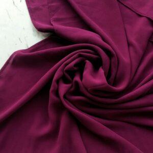 Premium Georgette Hijab Grape