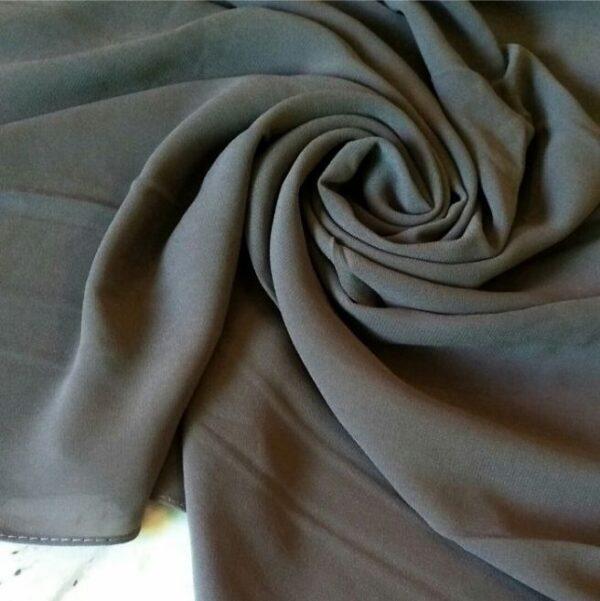 Premium Georgette Hijab Steel Grey