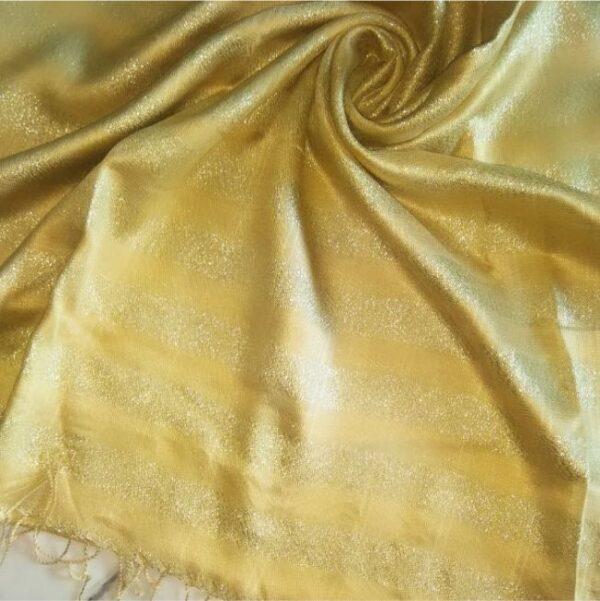 Shimmer Viscose Golden Yellow