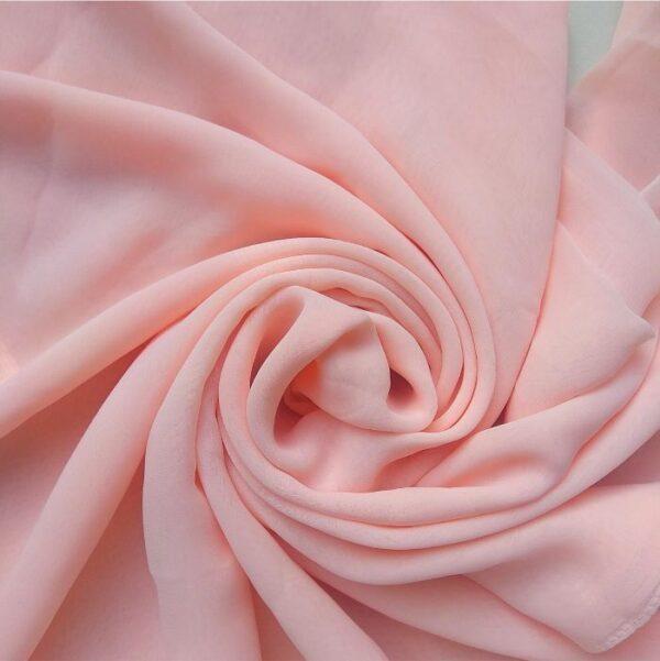 Square Hijab Rose Pink