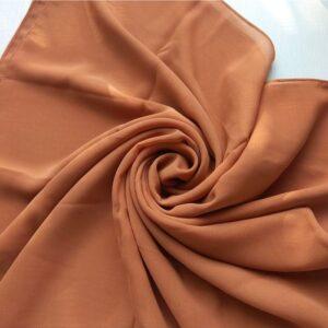 Square Hijab Rust