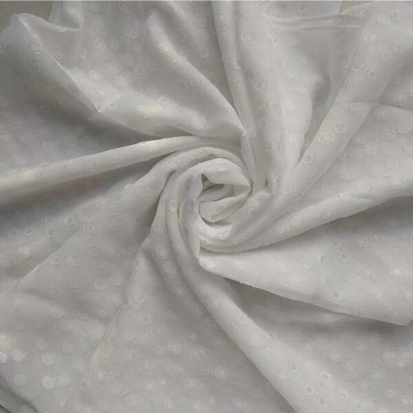 Square Hijab White
