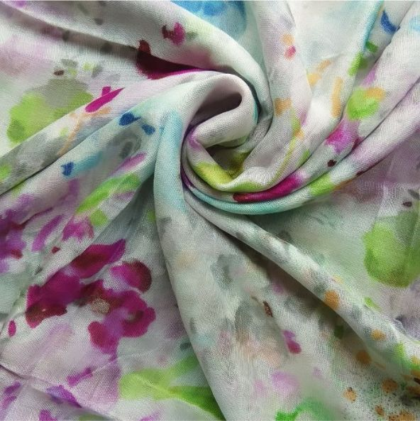 Everyday Lawn Floral Hijab Parrot