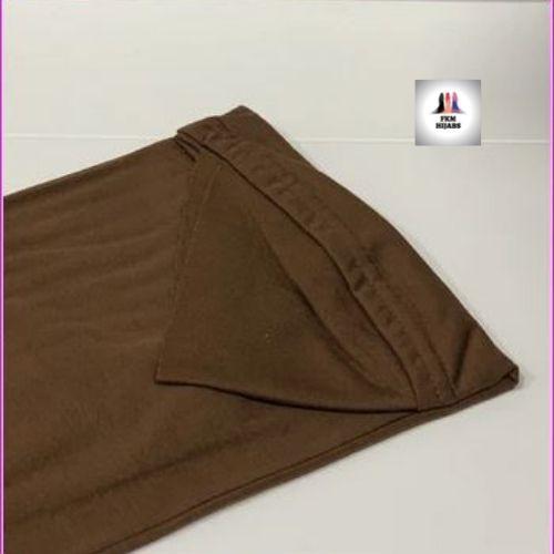 Large Al Amira Hijab Brown