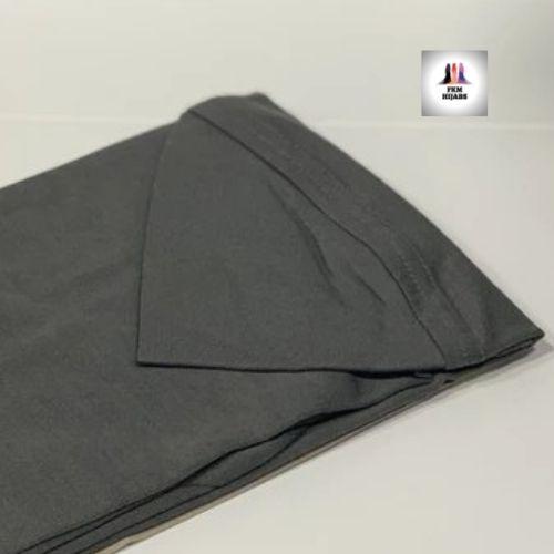 Large Al Amira Hijab Dark Grey