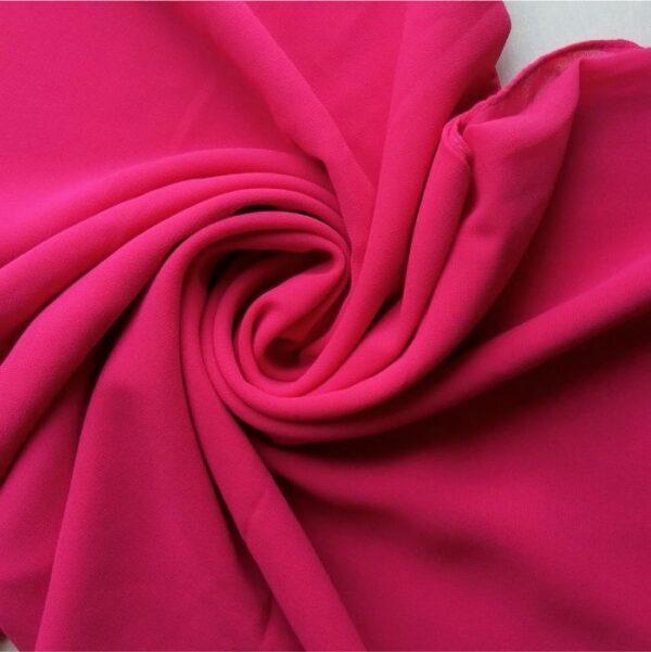 Premium Georgette Hijab Dark Pink