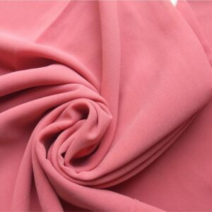 Premium Georgette Hijab French Rose