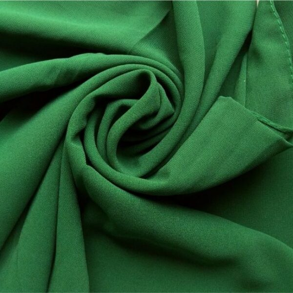 Premium Georgette Hijab Leafy Green