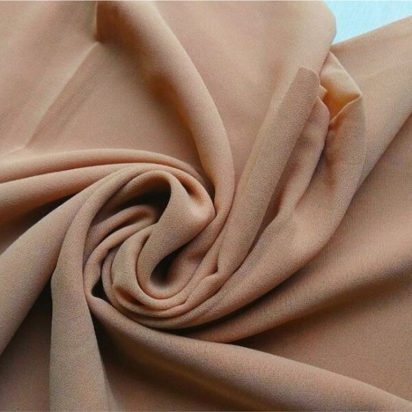 Premium Georgette Hijab Light Brown