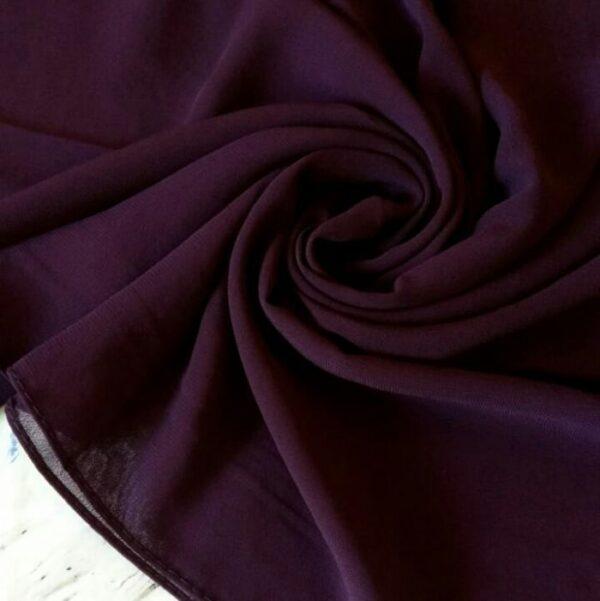 Premium Georgette Hijab Purple