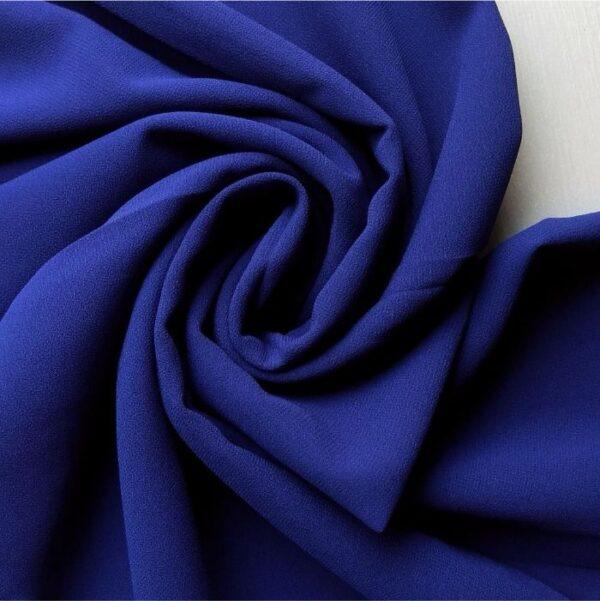 Premium Georgette Hijab Royal Blue