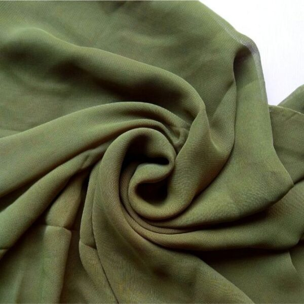 Square Hijab Forest Green