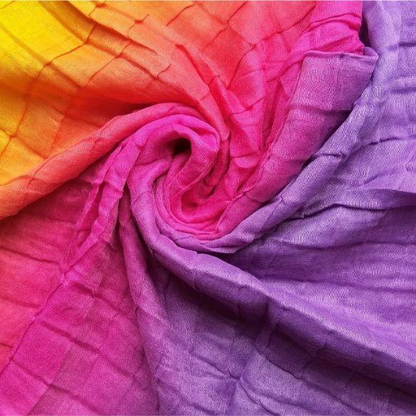 Tie & Dye Lawn Hijab Sunset