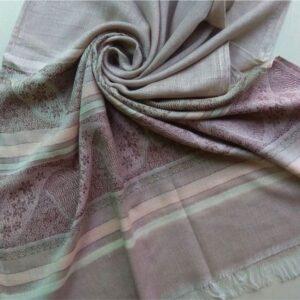 Premium Cotton Silk Scarf Light Mauve
