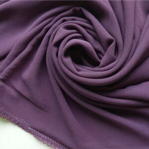 Premium Chiffon Hijab Purple