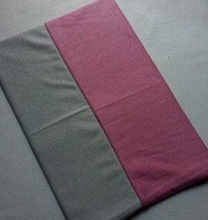 Tube Underscarf Dual Tone Light Grey Pink