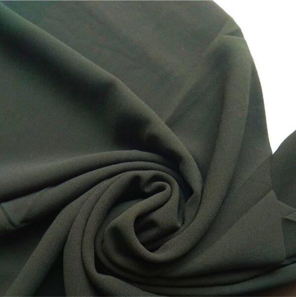 Premium Chiffon Hijab Dark Olive