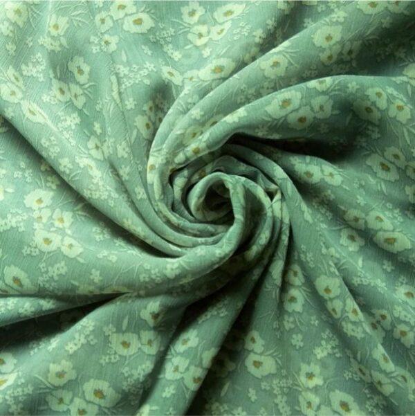 Printed Square Hijab Ivy