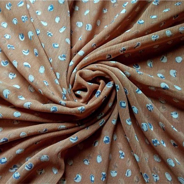 Printed Square Hijab Marbles