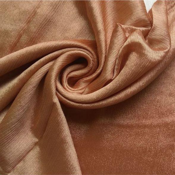 Shimmer Silk Hijab Light Bronze