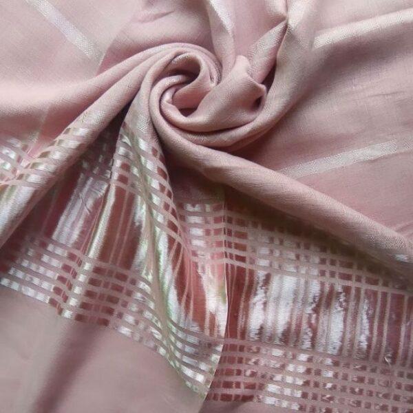 Fancy Lawn Hijab Tea Pink