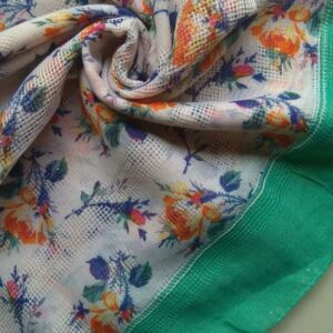 Lawn Hijab Summer Delights Green
