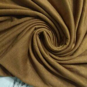 Premium Cotton Jersey Hijab Honey Brown
