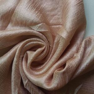 Shimmer Silk Scarf Dull Gold