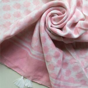 Everyday Lawn Stole Powder Pink