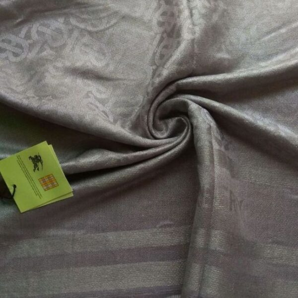Burberry Branded Stole Grey